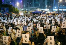 Protestas en HongKong-Octubre 15/2014